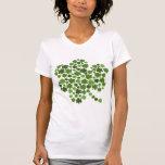 Tréboles irlandeses camiseta