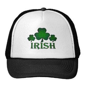 Tréboles irlandeses gorra