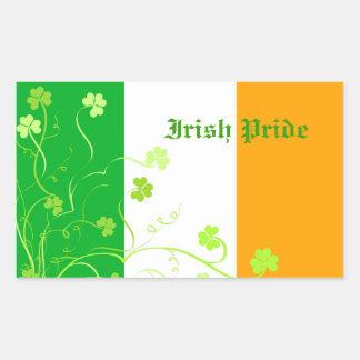 Tréboles irlandeses rectangular altavoces