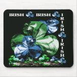 Tréboles irlandeses tapete de ratones