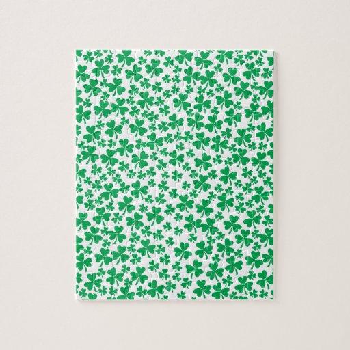 Tréboles para el día de St Patrick Puzzle Con Fotos