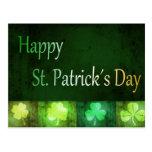 Tréboles sucios del día de los ´s de St Patrick - Tarjetas Postales