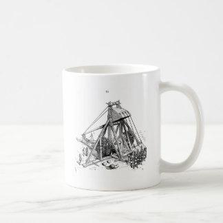 trebuchet coffee mug
