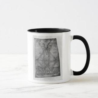 Trebuchet, machine to throw arrows mug
