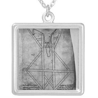 Trebuchet, machine to throw arrows jewelry