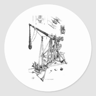 trebuchet sticker