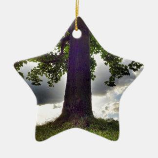 Tree #1 ceramic ornament