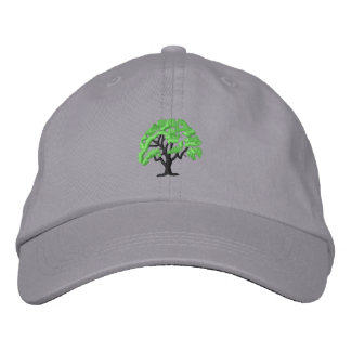 Tree 1 embroidered baseball hat
