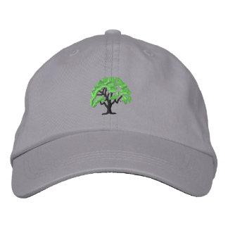 Tree 1 embroidered baseball cap