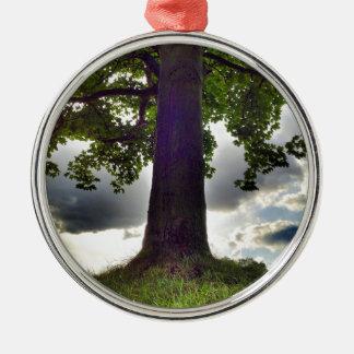 Tree #1 metal ornament