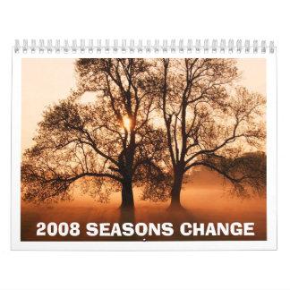 Tree, 2008 SEASONS CHANGE Calendar