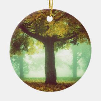 Tree #2 ceramic ornament