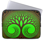 Tree 2  Fractal Abstract Art Laptop Computer Sleeves