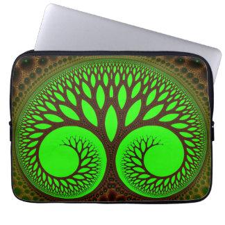 Tree 2  Fractal Abstract Art Laptop Sleeve