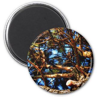 tree 2 inch round magnet