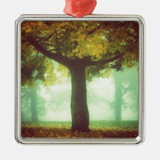 Tree #2 metal ornament