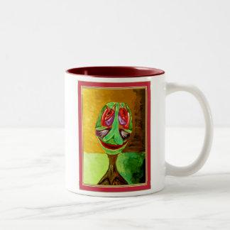 Tree-3 Two-Tone Coffee Mug