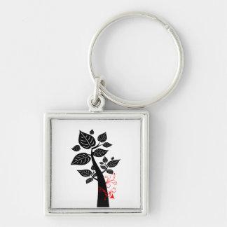 Tree 5 with arrow key chain