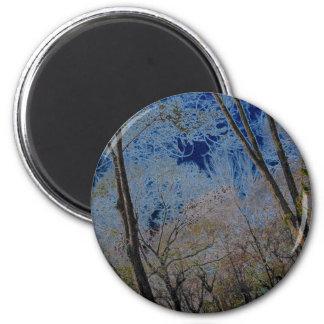 tree-6 2 inch round magnet