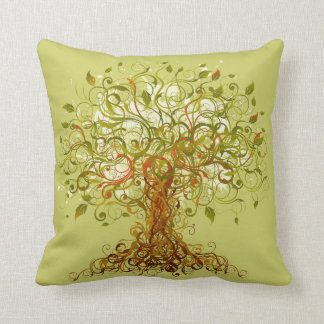 Tree - Abstract 1 Pillow