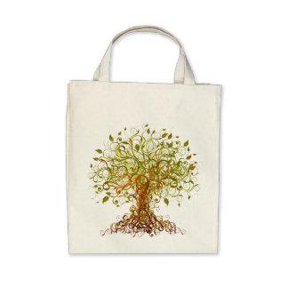 Tree - Abstract 3 Canvas Bag