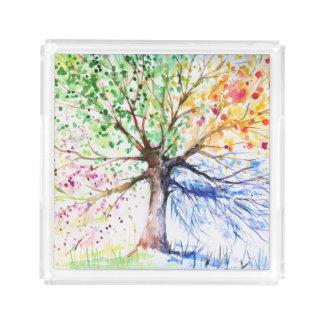 Tree Acrylic Tray