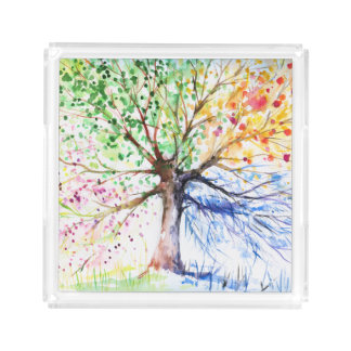 Tree Acrylic Tray