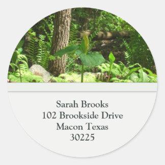 Tree Address Labels