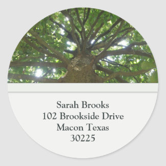 Tree Address Stickers