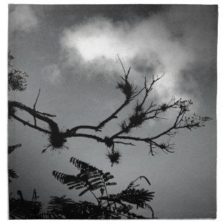 Tree Against the Sky Cloth Napkin