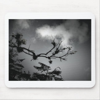 Tree Against the Sky Mouse Pad