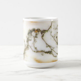 Tree Agate Abstract Art Pattern - Elegant Coffee Mug