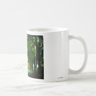 Tree alley in Hungary Coffee Mug