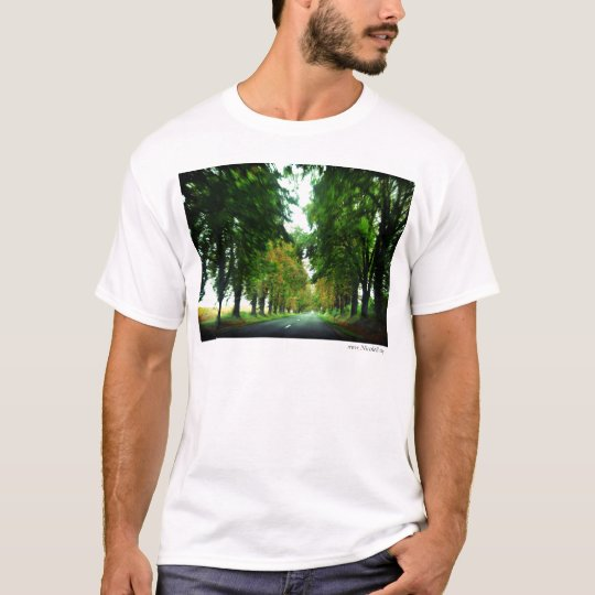 Tree alley in Hungary T-Shirt