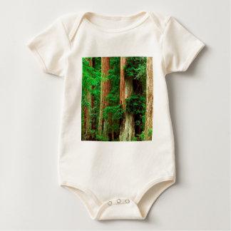 Tree Ancient Giants Redwoods Baby Bodysuit