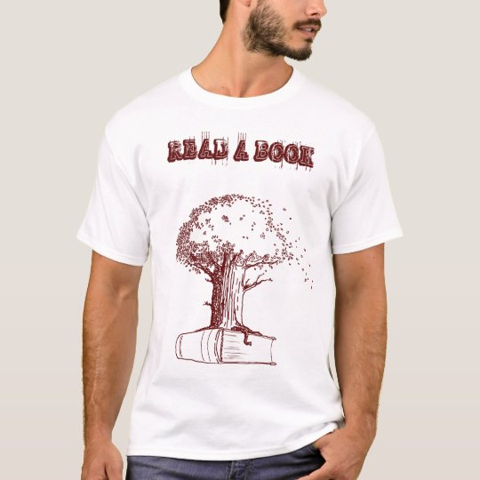 Tree and a book T-Shirt