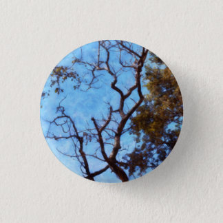 Tree and blue sky button