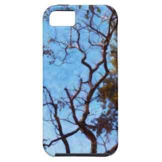 Tree and blue sky iPhone SE/5/5s case