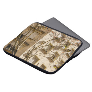 Tree and Buildings Laptop Sleeve