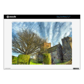 Tree and church skins for acer chromebook