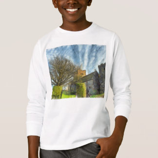 Tree and church T-Shirt