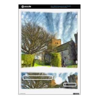 Tree and church xbox 360 s decals