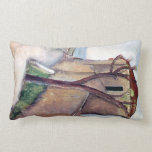Tree and House by Amedeo Modigliani Pillows