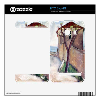 Tree and House by Amedeo Modigliani Skins For HTC Evo 4G