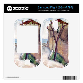 Tree and House by Amedeo Modigliani Samsung Flight Skins