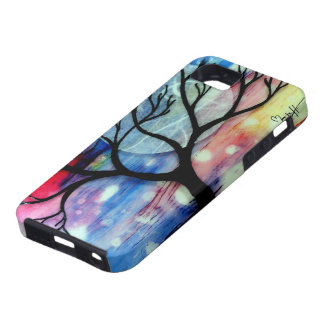 Tree and Ink Transparent Layers iPhone 5 Case