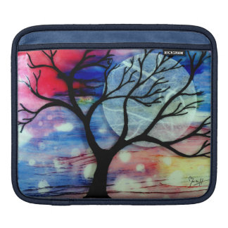 Tree and Ink Transparent Layers iPad Sleeve