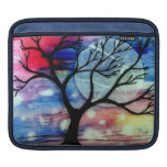 Tree and Ink Transparent Layers iPad Sleeves