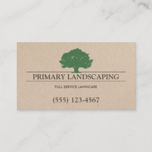 Tree service business cards zazzle tree and lawn service landscaping business card colourmoves