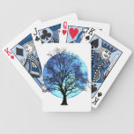 Tree and Moon Playing Cards